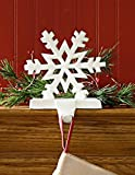 Park Designs Snowflake White Stocking Holder (22-855A)