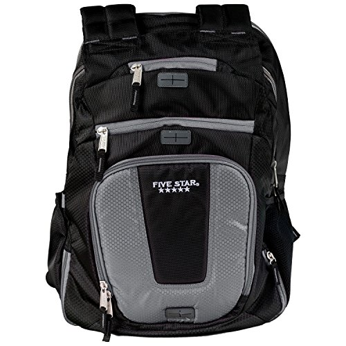 Five Star Backpack, Ultimate Tech, Back Pack, Dark Gray (73284)
