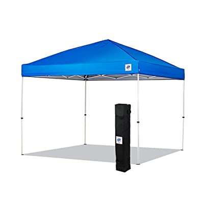 NEW E-Z UP Envoy Instant Shelter Canopy, 10 by 10', Royal Blue : Garden & Outdoor