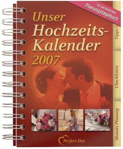 Hochzeits-Kalender 2007