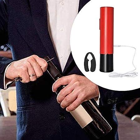 Z-Color Abridor de vinos eléctricos, Regalos de Vino, Conjunto de Regalo de Vino Completo, abrel de Vino eléctrico con Cortador de láminas, batería Recargable abrelatas de Botella de Vino