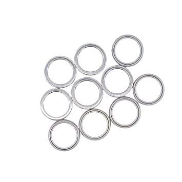 Front and Rear Differential Fill and Drain Plug Crush Washers Gasket for  Toyota 4Runner Tacoma FJ Cruiser Land Cruiser, Replacement for the part#