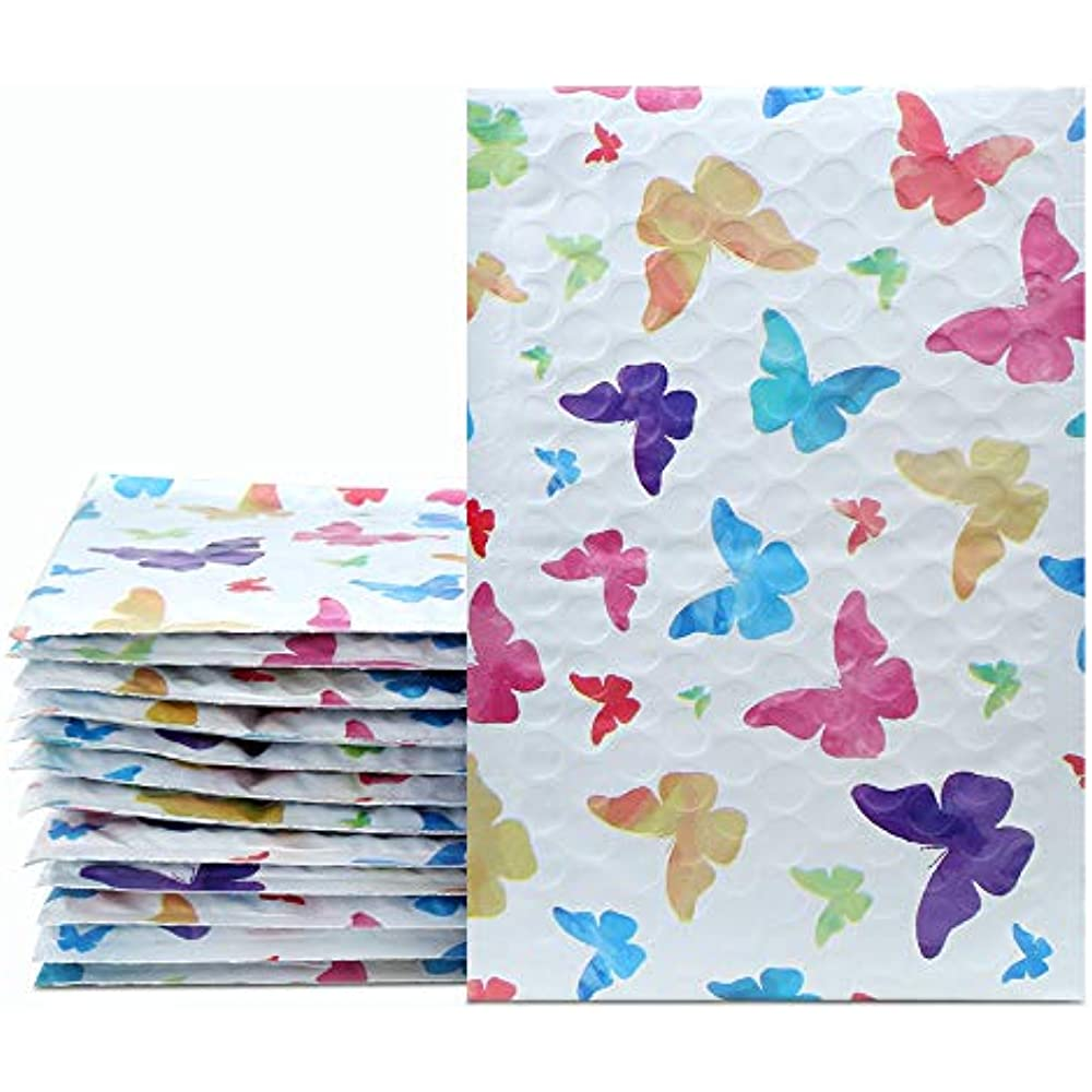 Mail Bags UCGOU 4x8 Inch 50pcs Poly Bubble Mailers Padded