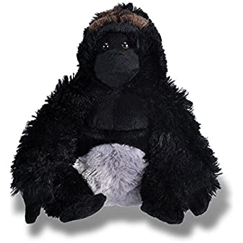 Wild Republic Silverback Gorilla Plush, Stuffed Animal, Plush Toy, Gifts for Kids, Cuddlekins 12 Inches