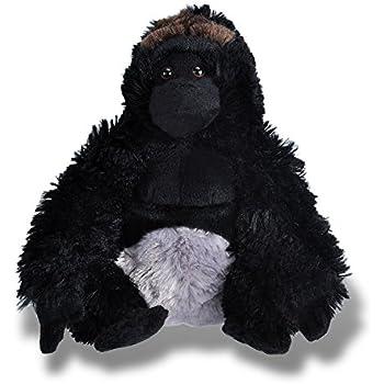 Wild Republic Silverback Gorilla Plush, Stuffed Animal, Plush Toy, Gifts for Kids, Cuddlekins 12 Inches