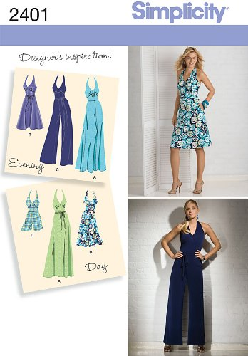 Simplicity Sewing Pattern 2401 Misses Special Occasion Dresses, H5 (6-8-10-12-14) (Misses Special Occasion Pattern)