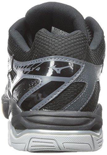 cheap sale original cheap reliable Mizuno Women's Wave Bolt 4 BK-SL Volleyball Shoe Black/Silver clearance big sale RdE4DCZtg