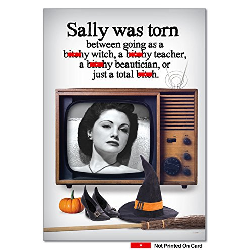 3203 'Total B' - Funny Halloween Greeting Card
