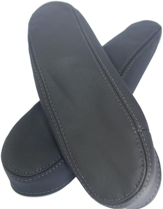 Synthetic Leather Gray Seat Armrest Covers Fits 07-09 Honda CR-V