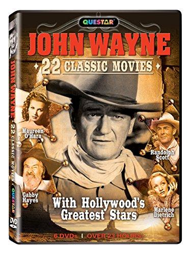 John Wayne - 22 Classic Movies 6 pk. by QUESTAR VIDEO INC