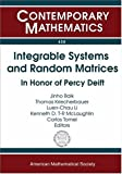 img - for Integrable Systems and Random Matrices: In Honor of Percy Deift (Contemporary Mathematics) book / textbook / text book