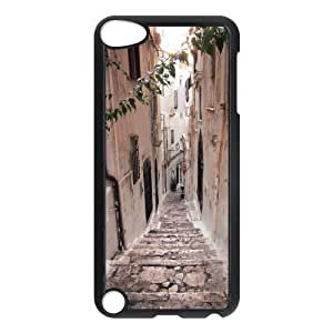 LZHCASE Design Phone Case Road For Ipod Touch 5 [Pattern-1]
