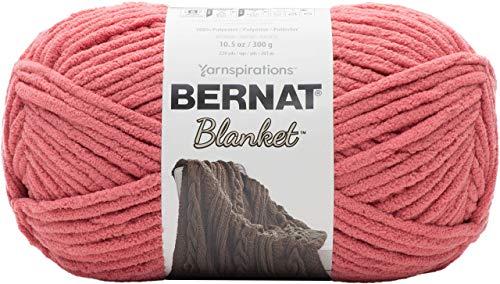 Bernat Blanket Yarn, 10.5 oz, Terracotta Rose, 1 Ball (Renewed)