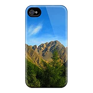 New Cute Funny Beautiful Sky Mountains Case Cover/ Iphone 4/4s Case Cover