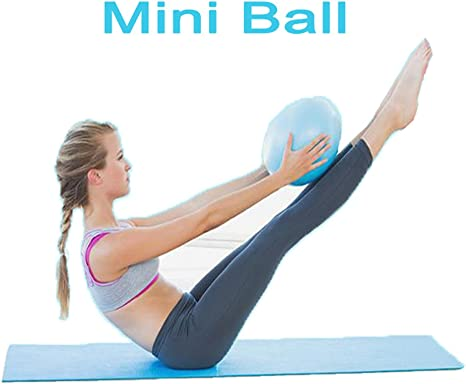 Mini pelota de pilates de yoga para entrenamiento de estabilidad ...