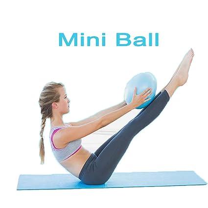 Mini pelota de pilates de Yoga para estabilidad Ejercicio Entrenamiento  Gimnasio anti Burst y antideslizante bolas 7090967955e8
