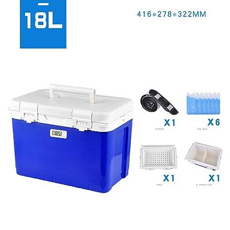 Caja de aislamiento de refrigeración, mini nevera portátil de ...