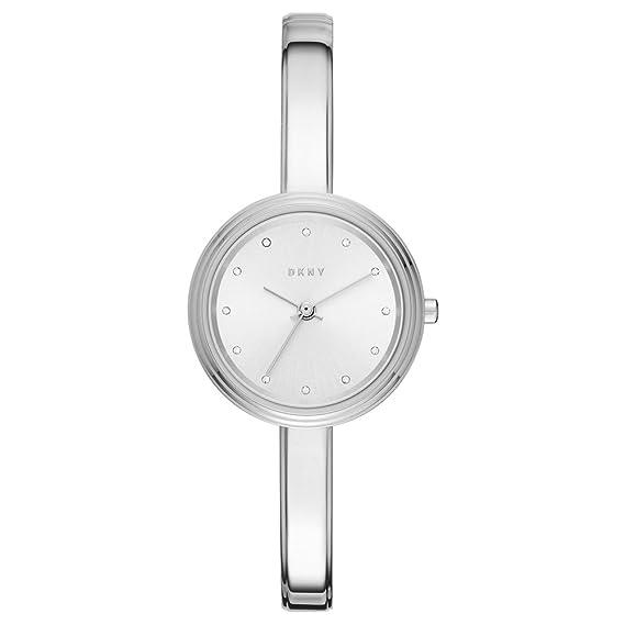 DKNY Reloj Analogico para Mujer de Cuarzo con Correa en Acero Inoxidable NY2598: Amazon.es: Relojes
