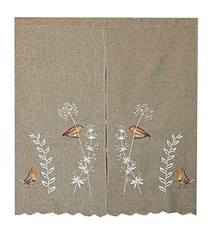 LUNA Home Decor kitchen Hanging Curtain Bedroom Doorway Curtain Dressing Room Entrance Curtain Half Screen 33.46''x59.05''(Japanese-style#02) by LUNA
