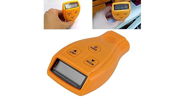 Thickness Car Meter Paint Gauge Coating Tester Digital Lcd Painting Measuring