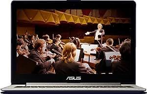 """Asus Vivobook S301 S301LP-C1016H - Portátil de 13.3"""" (Intel Core i5 4200U, 4 GB de RAM, 500 GB de disco duro, Radeon HD 8530M con 2 GB, Windows 8), negro - Teclado QWERTY español"""