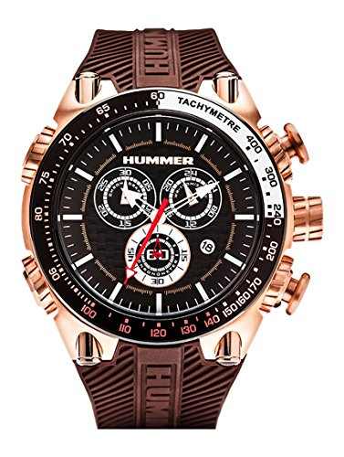 hummer-pilot-chronograph-watch-hu1100-108-rose-gold-case-brown-silicone-band