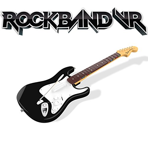 Rock Band VR Game + Guitar Controller (Xbox One Version) Bundle for Oculus Rift