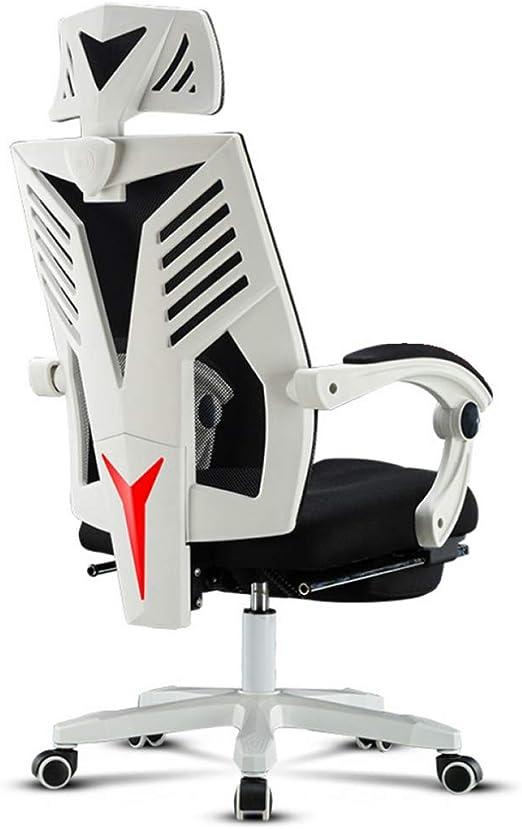 XUWEI Sillas Oficina Ordenador Gaming Giratoria Silla, Reclinable ...