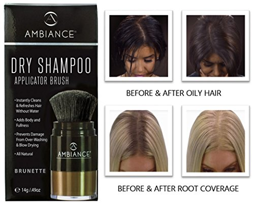 Ambiance Dry Shampoo –Refreshes, Conceals Roots & Volumize