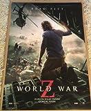 world war z movie poster - WORLD WAR Z MOVIE POSTER 2 Sided ORIGINAL INTL 27x40 BRAD PITT