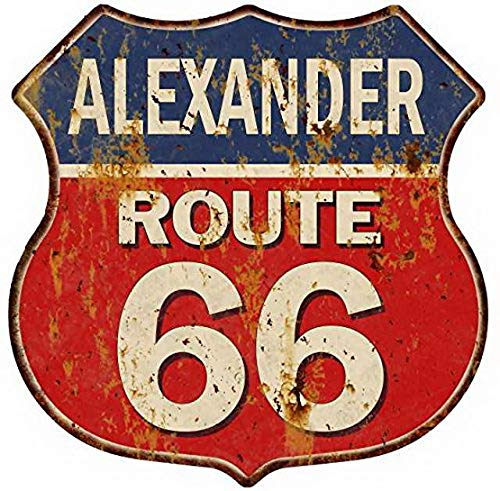 Ucland Cartel Antiguo para Venta Oklahoma Route 66 Shield ...
