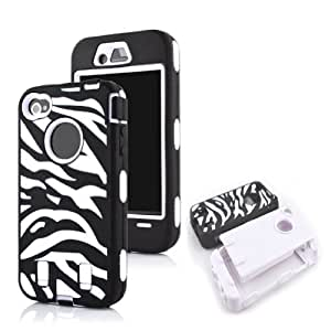 iPhone 5 case,iPhone 5 cases, iPhone 5 case cover, Thinkcase Robot Series Hybrid Case for iPhone 5 5S 5G