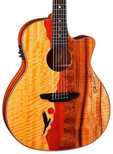 Luna VISTAEAGLE Luna Acoustic/Electric G - Koa Wood Veneer Shopping Results