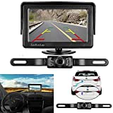 Kyпить LeeKooLuu Backup Camera and Monitor Kit for Car/Vehicle/Truck Waterproof Night Vision License Plate rear view Camera wire Single power source Rear view/Fulltime view Optional 4.3 Display Grid Lines на Amazon.com