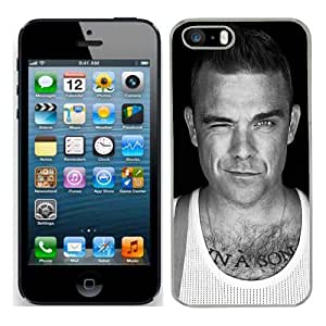 Robbie Williams Case Fits Iphone 5s Cover Hard Protective Skin 5 for Apple I Phone 5 S Mobile
