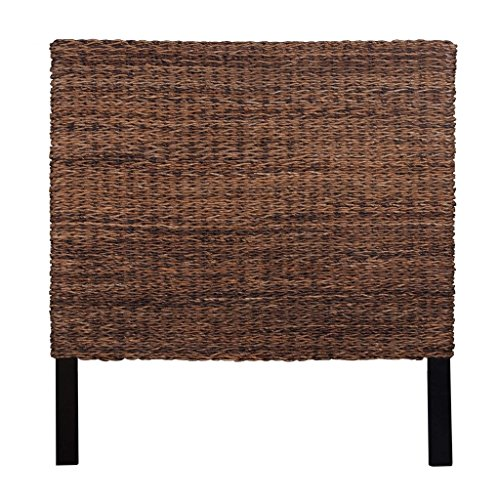 Jeffan International Abaca Weave Headboard, King (Tropical Headboards)