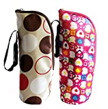 iSuperb 2 Pack Baby Bottle Tote Bags Nursing Bottle Cooler Warmer Insulated Bag