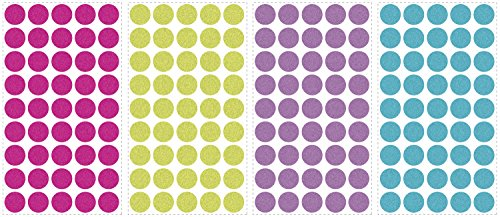RoomMates RMK2712SCS Glitter Confetti Decals product image