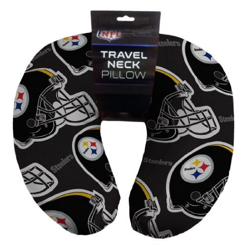 Northwest 117 NFL Pittsburgh Steelers Beaded Spandex Neck Pillow