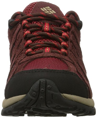 Columbia Womens Redmond Waterproof Trail Shoe Red/Element Elk sJ3G9SRsXY