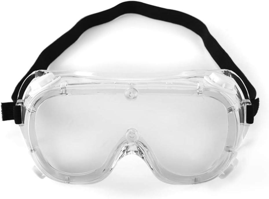 KKmoon Gafas Protección,Gafas Protectoras Trabajo,Antipolvo, Antiniebla