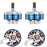 Aokfly RC2206 2700KV Brushless Motor 4pcs CW FPV Racing Drone Edition Quadcopter Mulitcopter Frame Blue Color