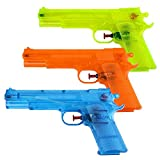 s/o Pack of 3Classic 23cm Water Gun Water Pistol Water Gun Water Pistol Watergun Water Gun Rifle (0442)