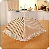 Gotian 31cm Food Cover Kitchen Food Umbrella Cover