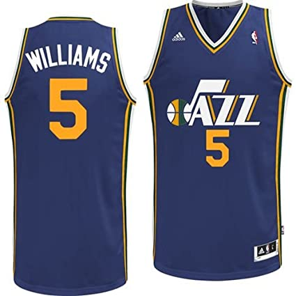 brand new d0659 2faaa Amazon.com : Utah Jazz Adidas NBA Mo Williams #5 Swingman ...