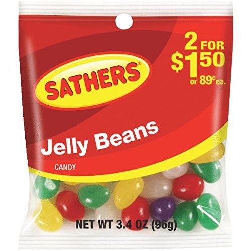 (Sathers Jelly Beans 2$1.50)