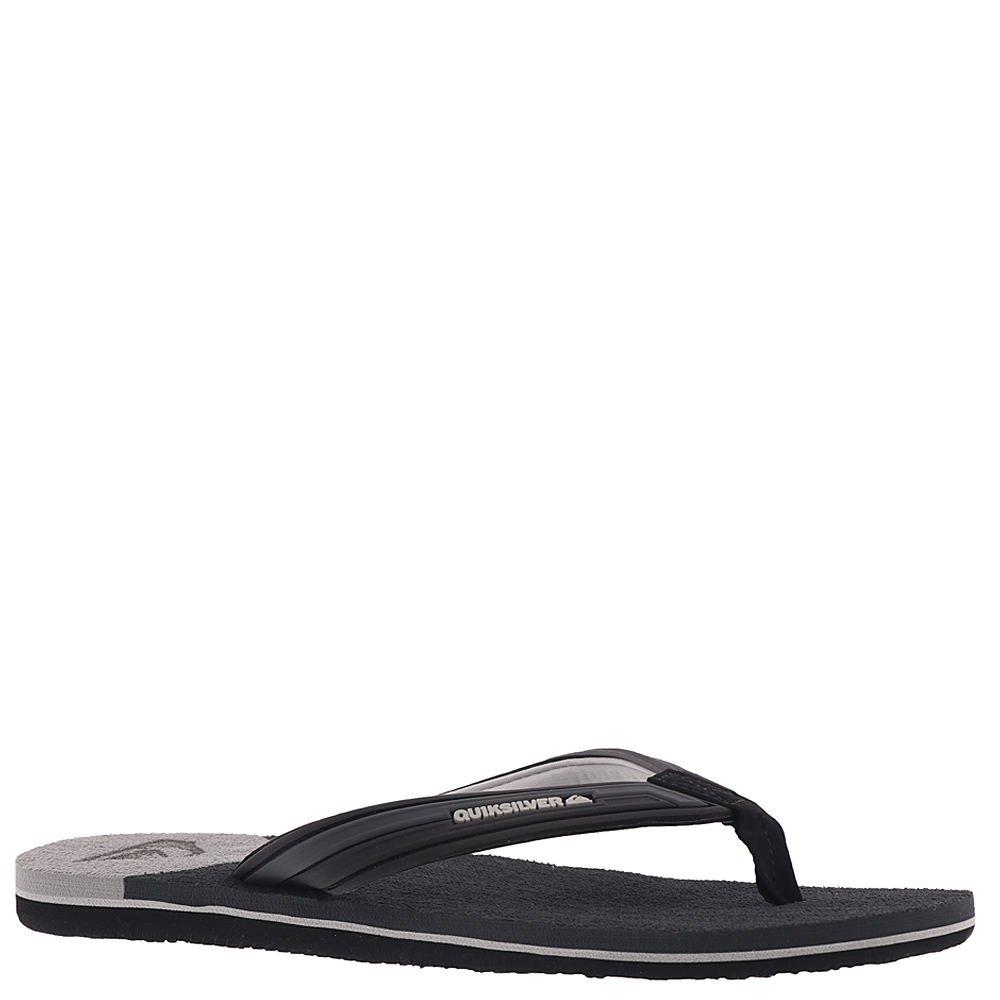 Quiksilver Men's Molokai New Wave Sandal,Grey/Black/Grey,Sz. 9