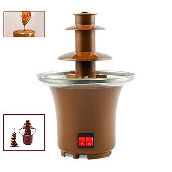 Amazon.com: Mini fuente de chocolate, 3 niveles, fuente de ...