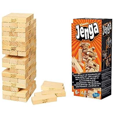 Hasbro A2120E24 - Jenga Classic - KIN: Toys & Games