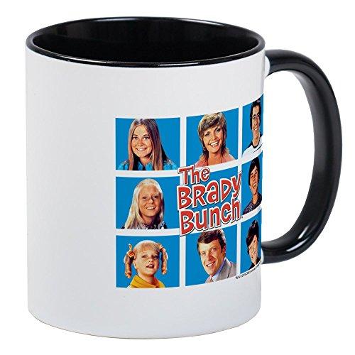 (CafePress - The Brady Bunch Grid Mug - Unique Coffee Mug, Coffee Cup)